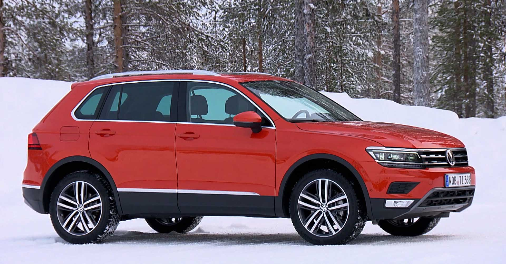 2018 Vw Tiguan Canadian Car Reviews Driving Television