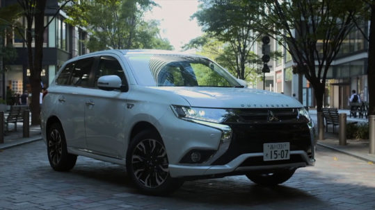 1409 Mitsubishi PHEV in Japan
