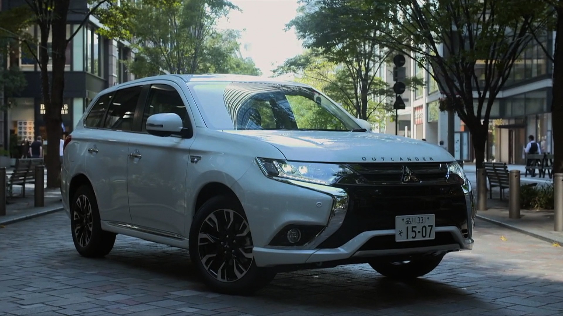 Mitsubishi Outlander PHEV in Japan