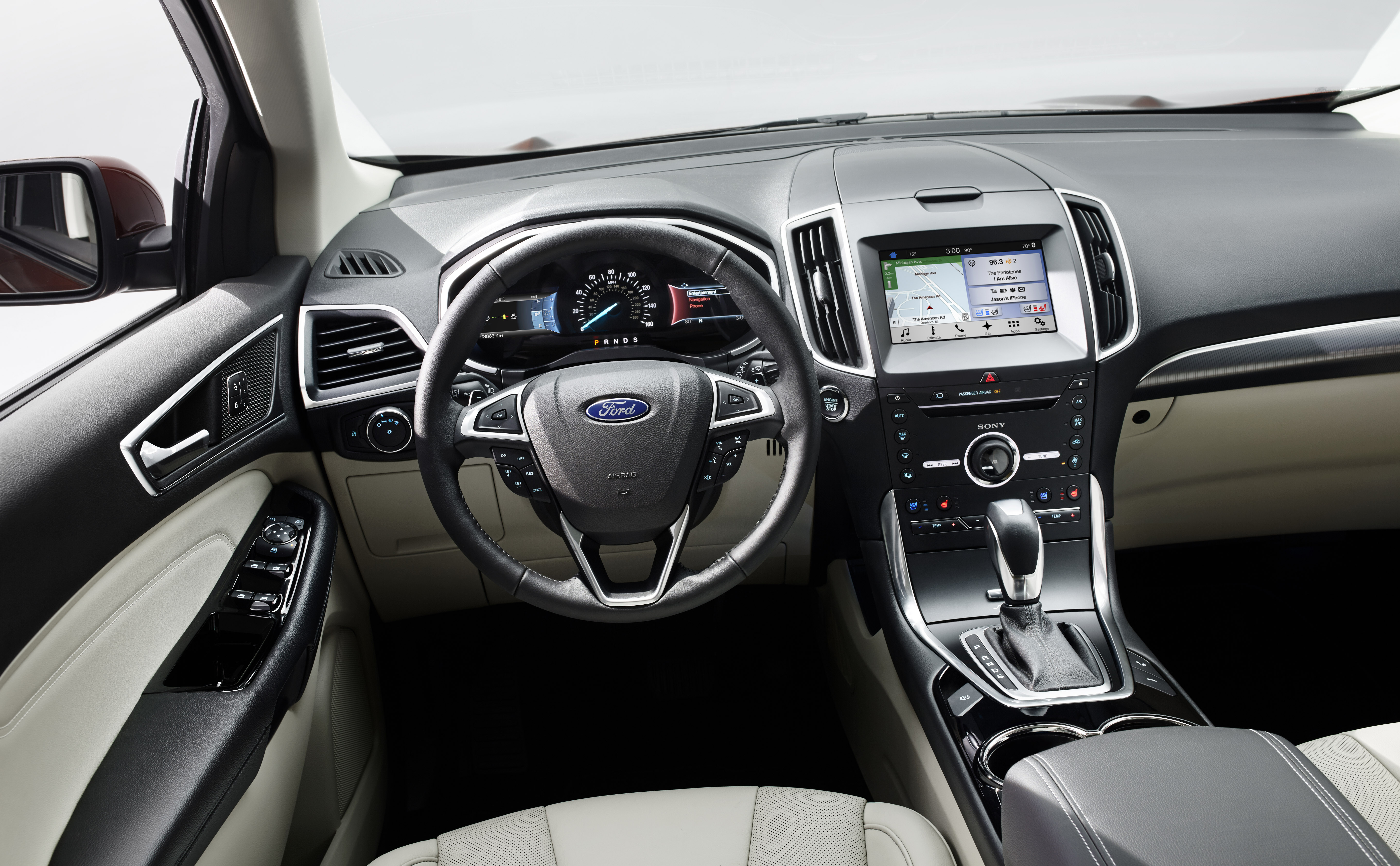 Murano Nissan Interior >> 2016 Ford Edge Sport | Canadian Car Reviews | Driving Television