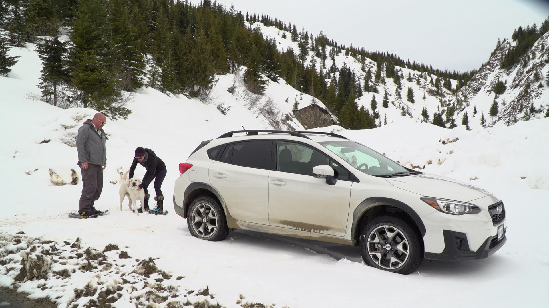 2018 Subaru Crosstrek takes you snowshoeing